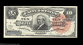Large Size:Silver Certificates, Fr. 293 $10 1886 Silver Certificate About New. This scarce ...