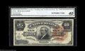 Large Size:Silver Certificates, Fr. 293 $10 1886 Silver Certificate CGA Extremely Fine 40. ...