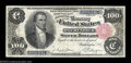 Large Size:Silver Certificates, Fr. 344 $100 1891 Silver Certificate Very Fine. A ...