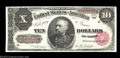 Large Size:Treasury Notes, Fr. 368 $10 1890 Treasury Note Gem New. A gorgeous 1890 ...