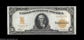 Large Size:Gold Certificates, Fr. 1169a $10 1907 Gold Certificate Gem New. This is the ...