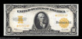 Large Size:Gold Certificates, Fr. 1173 $10 1922 Gold Certificate Star Note Gem New. A ...