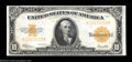 Large Size:Gold Certificates, Fr. 1173 $10 1922 Gold Certificate Very Choice New. Bold ...
