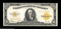 Large Size:Gold Certificates, Fr. 1173 $10 1922 Gold Certificate Extremely Fine. Tight ...