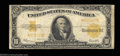 Large Size:Gold Certificates, Fr. 1173 $10 1922 Gold Certificate Star Note Very Good-Fine.