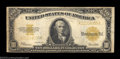 Large Size:Gold Certificates, Fr. 1173 $10 1922 Gold Certificates. A pair of $10 gold ... (2 notes)