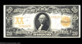 Large Size:Gold Certificates, Fr. 1183 $20 1906 Gold Certificate Gem New. This Napier-...