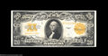Large Size:Gold Certificates, Fr. 1187 $20 1922 Gold Certificate Superb Gem New. The ...