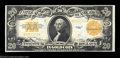 Large Size:Gold Certificates, Fr. 1187 $20 1922 Gold Certificate Choice About New. ...