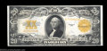 Large Size:Gold Certificates, Fr. 1187 $20 1922 Gold Certificate Choice About New. A bit ...