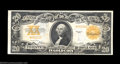 Large Size:Gold Certificates, Fr. 1187 $20 1922 Gold Certificate Star Note Choice ...