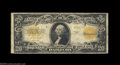 Large Size:Gold Certificates, Fr. 1187 $20 1922 Gold Certificate Star Note Fine. Solid ...