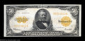 Large Size:Gold Certificates, Fr. 1200 $50 1922 Gold Certificate Very Choice New. If the ...
