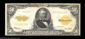 Large Size:Gold Certificates, Fr. 1200 $50 1922 Gold Certificate About Very Fine. An ...