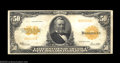 Large Size:Gold Certificates, Fr. 1200a $50 1922 Gold Certificate About Very Fine. This ...