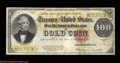 Large Size:Gold Certificates, Fr. 1215 $100 1922 Gold Certificate About Very Fine. ...
