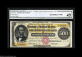 Large Size:Gold Certificates, Fr. 1216b $500 1882 Gold Certificate CGA Extremely Fine 45.