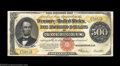 Large Size:Gold Certificates, Fr. 1217 $500 1922 Gold Certificate Choice Fine. With ...