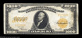 Large Size:Gold Certificates, Fr. 1220 $1,000 1922 Gold Certificate Choice Very Fine. ...