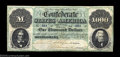 Confederate Notes:1861 Issues, T1 $1,000 1861. The Montgomery issue $1,000 was the only ...
