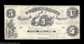Confederate Notes:1861 Issues, T11 $5 1861. Like most higher grade examples of this very ...