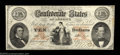 """Confederate Notes:1861 Issues, T26 $10 1861. This example, printed on script """"CSA"""" ..."""