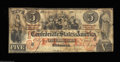 Confederate Notes:1861 Issues, T31 $5 1861. Although there is some soiling on the back ...