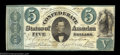 Confederate Notes:1861 Issues, T33 $5 1861. This type, like its more common cousin the ...