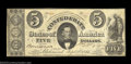 Confederate Notes:1861 Issues, T34 $5 1861. This T34 is absoulutely gorgeous, although a ...