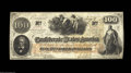 Confederate Notes:1862 Issues, T41 $100 1862. An absolutely gorgeous example that borders ...