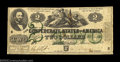 Confederate Notes:1862 Issues, T43 $2 1862. This type, essentially the same as T42 but ...