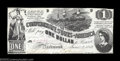 Confederate Notes:1862 Issues, T44 $1 1862. Much better centered than most examples of ...