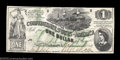 Confederate Notes:1862 Issues, T45 $1 1862. This is another type that is almost never ...