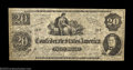 Confederate Notes:1862 Issues, T47 $20 1862. Although once considered legitimate issues ...