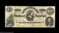 Confederate Notes:1862 Issues, T49 $100 1862. Beautiful paper quality sets this Lucy ...