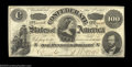 Confederate Notes:1862 Issues, T49 $100 1862. Attractive and well centered, Crisp ...