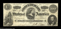 Confederate Notes:1862 Issues, T49 $100 1862. A very pretty Lucy Pickens C-note with a ...
