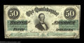 Confederate Notes:1862 Issues, T50 $50 1862. A beautiful, fully margined example of this ...