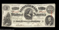 Confederate Notes:1863 Issues, T56 $100 1863. A well margined example that is attractive ...