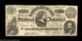Confederate Notes:1863 Issues, T56 $100 1863 Trio. Three attractive lightly circulated ... (3notes)