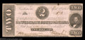 Confederate Notes:1863 Issues, T61 $2 1863. A pretty Crisp Uncirculated deuce from ...
