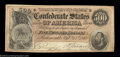 Confederate Notes:1864 Issues, T64 $500 1864. A nice Stonewall Jackson $500 with a little ...