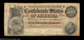 Confederate Notes:1864 Issues, T64 $500 1864. A nice $500 that would be fully ...