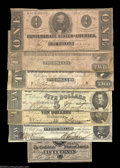 Confederate Notes:Group Lots, Nice Group of 1863 and 1864 Confederates.
