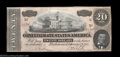 Confederate Notes:Group Lots, 1864 Pair.