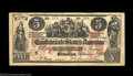 Confederate Notes:Group Lots, Three Confederate Counterfeits.