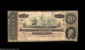 Confederate Notes:Group Lots, Pair of CSA Advertising Notes.