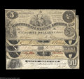 Confederate Notes:Group Lots, Early CSA Types.