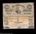 Confederate Notes:Group Lots, Five Notes from Dixie.