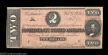 Confederate Notes:Group Lots, Confederate Pair.